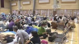 10月、台風19号の避難所