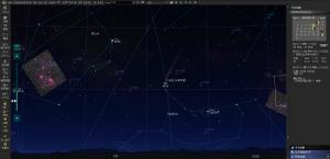 5月16日のアトラス彗星の位置