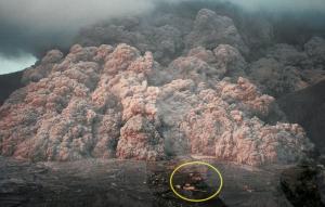 普賢岳噴火