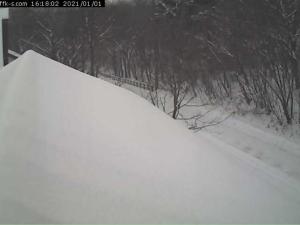 那須高原の積雪